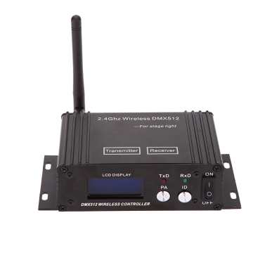 Récepteur d'émetteur de contrôleur d'éclairage sans fil DMX 512 2.4G