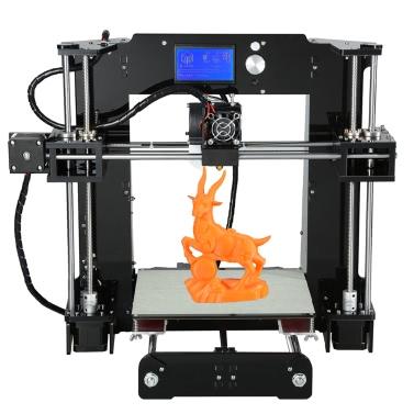 Anet A6 Kits de impresora de escritorio 3D de gran tamaño y alta precisión