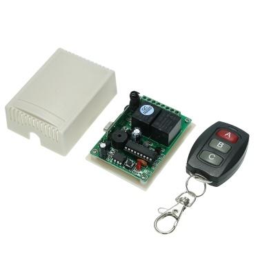 433Mhz DC 12V 2CH Commutateur Télécommande Sans Fil Universel 10A Relais