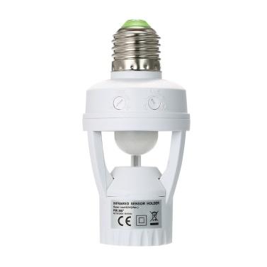360 Degrees PIR Induction Motion Sensor Lamp Holder