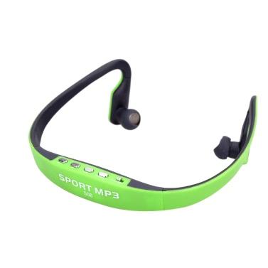 Andoer® Tragbarer Sport Drahtloser TF FM Radio Headset KopfhörerOhrhörerMusik MP3Player mit MiniUSB Anschluss