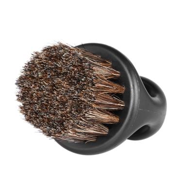 Brosse à barbe pour hommes Barber Hair Sweep Brosse Moustache Rasage Brosse Cou Face Duster Brosse pour Salon de Coiffure Ménage