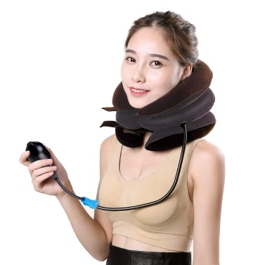 Half Velvet Three-tube Inflatable Cervical Vertebra Tractor