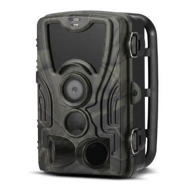 Cámara de 16MP 1080P Trail Camera Hunting Game (Sin red)