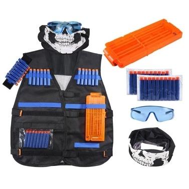 Kit de colete de treino ajustável para a série de Elite Nerf N-Strike