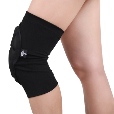 2pcs Wolfbike rodilla elástica transpirable cojines Fútbol Baloncesto deportes manga rodillera Protector de pierna