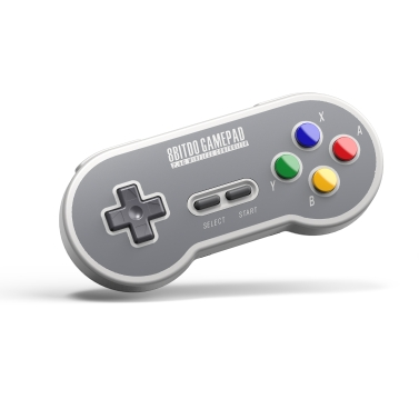 8Bitdo SF30 Wireless 2.4G portátil Mini Handle PC de teléfono móvil Android Game-controller
