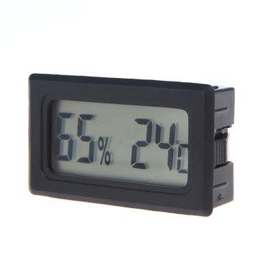 Mini Digital LCD termómetro higrómetro humedad medidor de temperatura interior