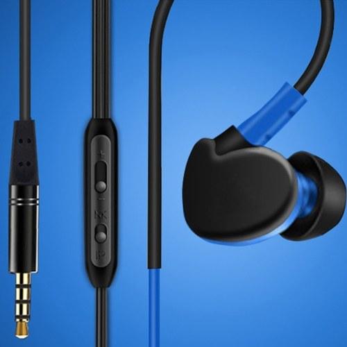 Les modèles sont entièrement compatibles avec les écouteurs universels à commande par fil à oreille suspendue