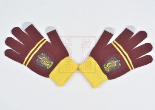 هاري بوتر كلية شتاء دفء قفازات جريفندور قفازات أحمر