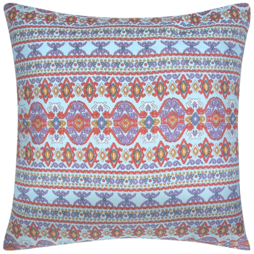 Pillow Covers 2 pcs Canvas Aztec Printed Multicolour 80x80 cmHome &amp; Garden<br>Pillow Covers 2 pcs Canvas Aztec Printed Multicolour 80x80 cm<br>
