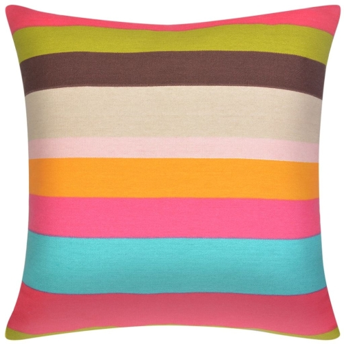 Pillow Covers 2 pcs Canvas Print with Wide Stripes 80x80 cmHome &amp; Garden<br>Pillow Covers 2 pcs Canvas Print with Wide Stripes 80x80 cm<br>