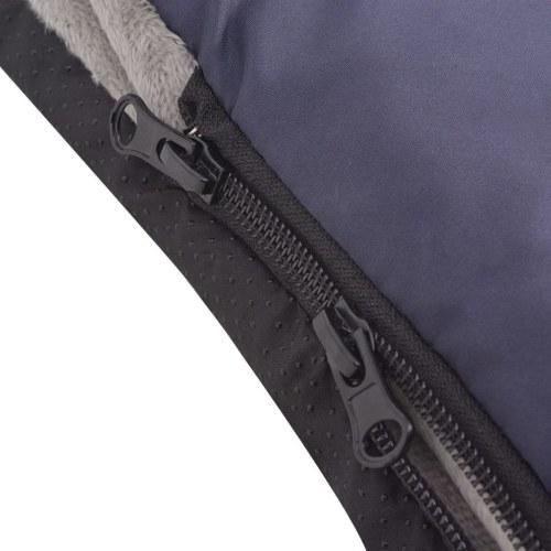 Saco de dormir / Bunting para portabebé / asiento de coche 75x40 cm azul marino