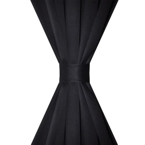 2 pcs Black Slot-Headed Blackout Curtains 135 x 245 cmHome &amp; Garden<br>2 pcs Black Slot-Headed Blackout Curtains 135 x 245 cm<br>
