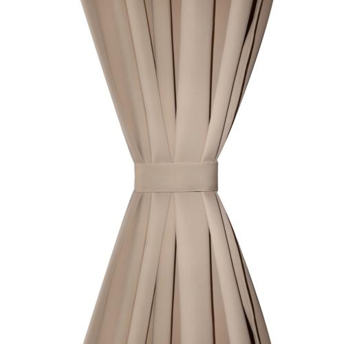 2 pcs Cream Slot-Headed Blackout Curtains 135 x 245 cmHome &amp; Garden<br>2 pcs Cream Slot-Headed Blackout Curtains 135 x 245 cm<br>