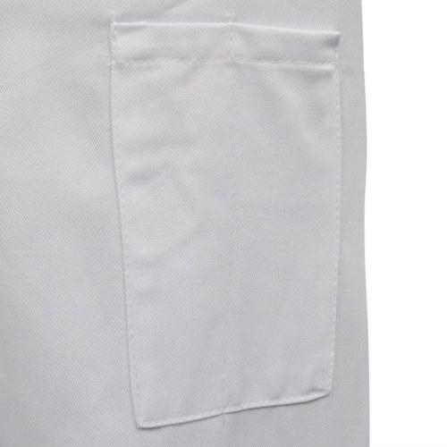 シェフジャケット2個長袖Mサイズホワイト