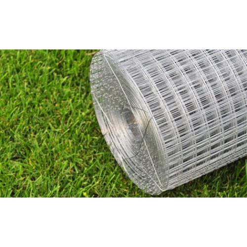 Square Wire Netting 1x25 m Galvanized Thickness 0,75 mmHome &amp; Garden<br>Square Wire Netting 1x25 m Galvanized Thickness 0,75 mm<br>