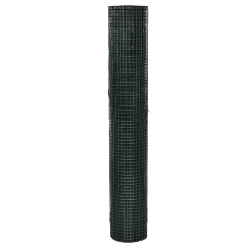 Square Wire Netting 1x10 m PVC-coated Galvanized Mesh Size 12x12 mmHome &amp; Garden<br>Square Wire Netting 1x10 m PVC-coated Galvanized Mesh Size 12x12 mm<br>
