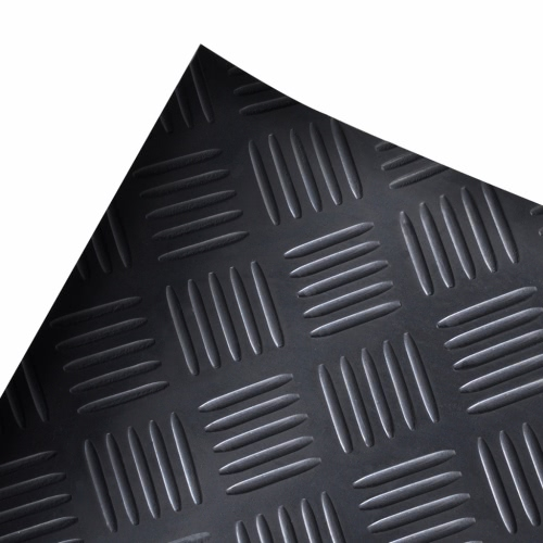 Rubber Floor Mat Anti-Slip 2 x 1 m Checker PlateHome &amp; Garden<br>Rubber Floor Mat Anti-Slip 2 x 1 m Checker Plate<br>