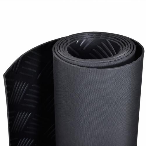 Rubber Floor Mat Anti-Slip 5 x 1 m Checker PlateHome &amp; Garden<br>Rubber Floor Mat Anti-Slip 5 x 1 m Checker Plate<br>