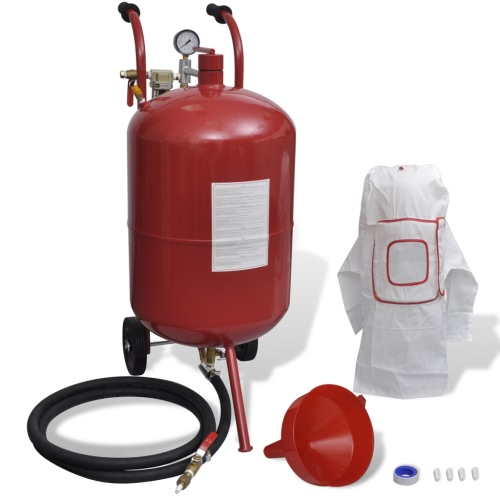 Portable 76 L Sand Blaster with Pressure GaugeTest Equipment &amp; Tools<br>Portable 76 L Sand Blaster with Pressure Gauge<br>