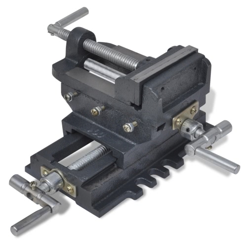 Manually Operated Cross Slide Drill Press ViceTest Equipment &amp; Tools<br>Manually Operated Cross Slide Drill Press Vice<br>