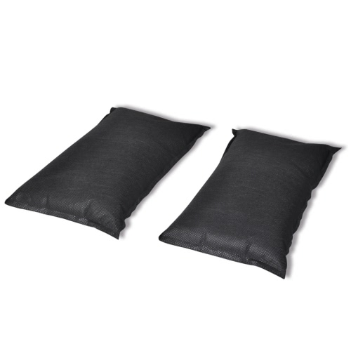 2 x 1 kg Activated Carbon Deodorising Bag with VelcroHome &amp; Garden<br>2 x 1 kg Activated Carbon Deodorising Bag with Velcro<br>