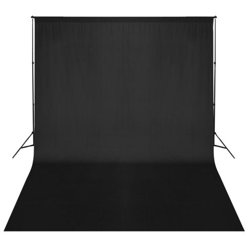 Black Backdrop Support System 500 x 300 cm UKCameras &amp; Photo Accessories<br>Black Backdrop Support System 500 x 300 cm UK<br>
