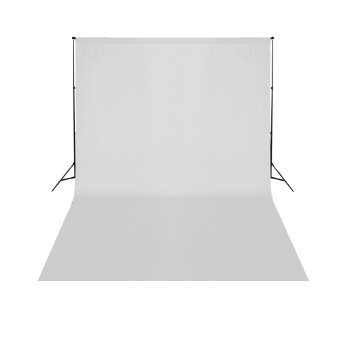 Telescopic Background Support System White Backdrop 3 x 5 m UKCameras &amp; Photo Accessories<br>Telescopic Background Support System White Backdrop 3 x 5 m UK<br>
