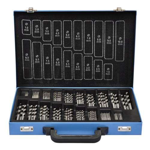 Coffret de 170 forets HSS EC avec boite de transport m?talTest Equipment &amp; Tools<br>Coffret de 170 forets HSS EC avec boite de transport m?tal<br>