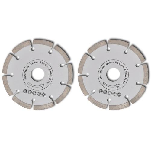 2 disques diamant?s pour meuleuse 180 mm segment 10mmHome &amp; Garden<br>2 disques diamant?s pour meuleuse 180 mm segment 10mm<br>