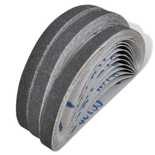 Lot de 30 courroies abrasives pour ponceuse ? bande pneumatiqueTest Equipment &amp; Tools<br>Lot de 30 courroies abrasives pour ponceuse ? bande pneumatique<br>