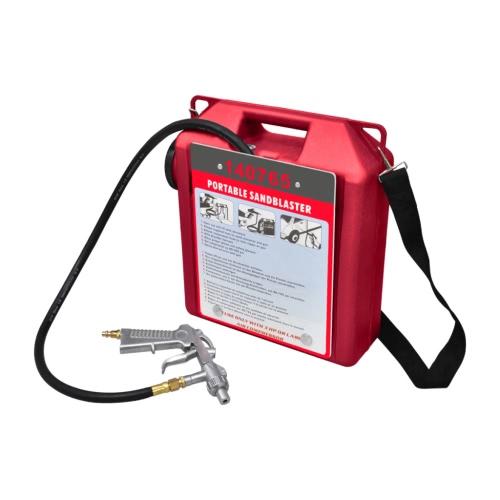 Appareil de sablage portatif, pistolet et tuyau inclusTest Equipment &amp; Tools<br>Appareil de sablage portatif, pistolet et tuyau inclus<br>
