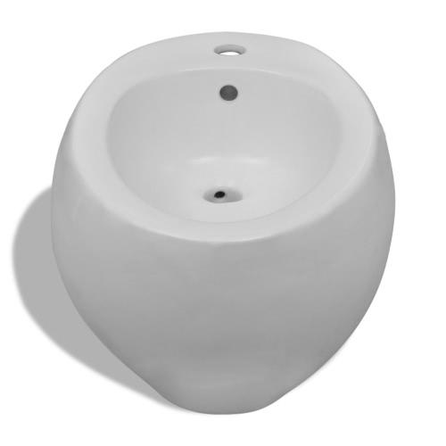 Wall Hung Bidet White CeramicHome &amp; Garden<br>Wall Hung Bidet White Ceramic<br>