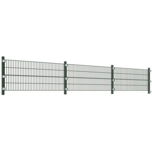 Recinzione Modulare 6 metri con Pali Altezza 0,8 mHome &amp; Garden<br>Recinzione Modulare 6 metri con Pali Altezza 0,8 m<br>