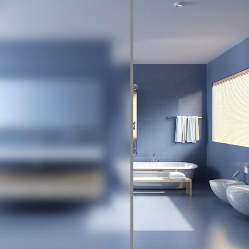 película de la ventana privacidad esmerilado puro para 0,9 x 5 m
