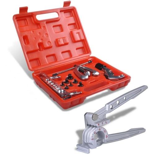 Flaring Tool Kit Set Tube Bender Pipe Repair With CaseCar Accessories<br>Flaring Tool Kit Set Tube Bender Pipe Repair With Case<br>