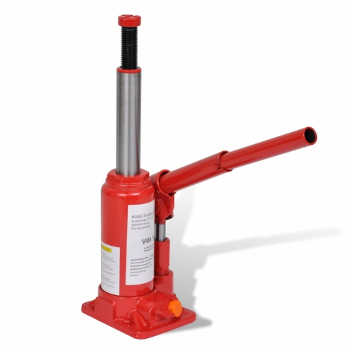 Hydraulic Bottle Jack 2 Ton Red Car Lift AutomotiveCar Accessories<br>Hydraulic Bottle Jack 2 Ton Red Car Lift Automotive<br>