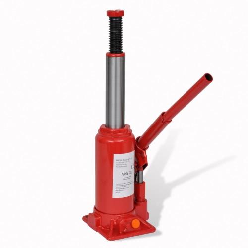 210257 Hydraulic Bottle Jack 5 Ton Red Car Lift AutomotiveCar Accessories<br>210257 Hydraulic Bottle Jack 5 Ton Red Car Lift Automotive<br>