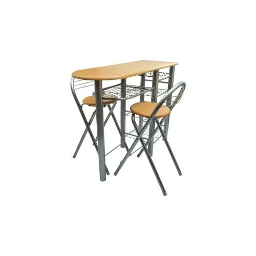 Кухня бар с 2-мя стульями