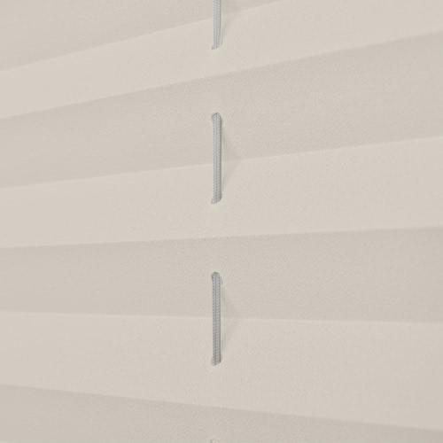 Plisse Blind 60x125cm CremeHome &amp; Garden<br>Plisse Blind 60x125cm Creme<br>
