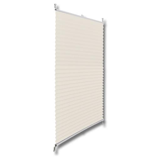Plisse Blind 90x100cm CremeHome &amp; Garden<br>Plisse Blind 90x100cm Creme<br>