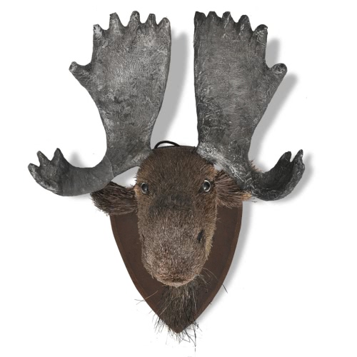 Moose Head Wall Mounted Decoration Natural LookingHome &amp; Garden<br>Moose Head Wall Mounted Decoration Natural Looking<br>