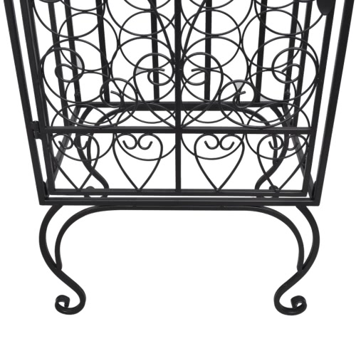 Metal Wine Cabinet Rack Wine Stand for 28 BottlesHome &amp; Garden<br>Metal Wine Cabinet Rack Wine Stand for 28 Bottles<br>