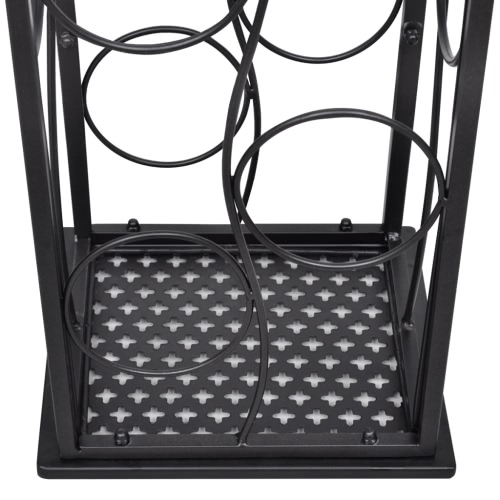 Metal Wine Rack Wine Stand for 8 BottlesHome &amp; Garden<br>Metal Wine Rack Wine Stand for 8 Bottles<br>