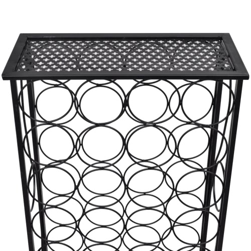 Metal Wine Rack Wine Stand for 28 BottlesHome &amp; Garden<br>Metal Wine Rack Wine Stand for 28 Bottles<br>