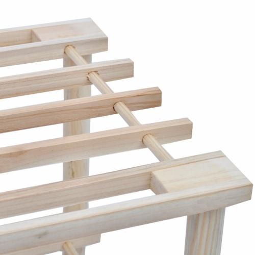 Wooden Shoe Rack 4-Tier Shoe Shelf Storage 2 pcsHome &amp; Garden<br>Wooden Shoe Rack 4-Tier Shoe Shelf Storage 2 pcs<br>