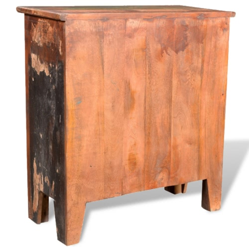 Reclaimed Wood Cabinet with 4 DrawersHome &amp; Garden<br>Reclaimed Wood Cabinet with 4 Drawers<br>