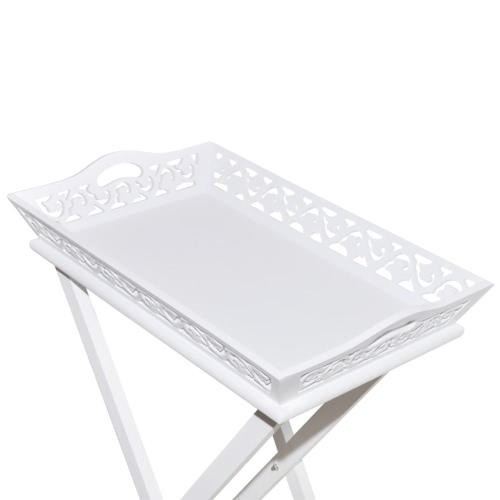 White Tray Pot Side TableHome &amp; Garden<br>White Tray Pot Side Table<br>