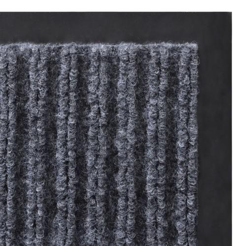 Grey PVC Door Mat 90 x 60 cmHome &amp; Garden<br>Grey PVC Door Mat 90 x 60 cm<br>